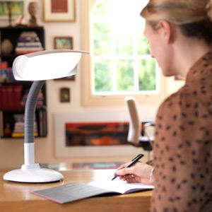 Lumie Desk Lamp SAD Light Therapy