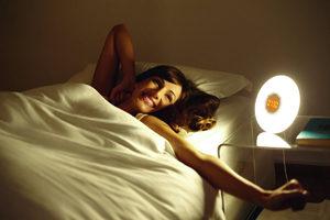 Philips Wake-Up Light Alarm Clock HF3505