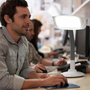 Lumie SAD Light Therapy Desk Lamp